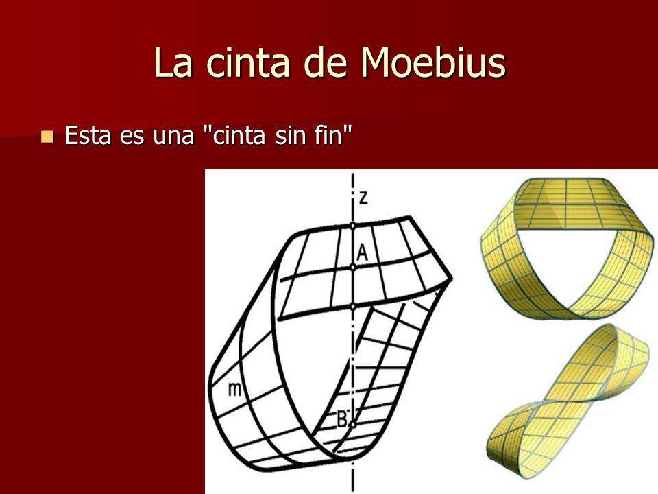 La cinta de Moebius Esta es una