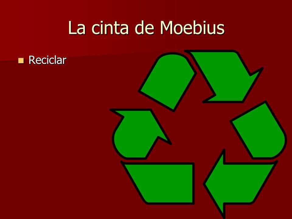 La cinta de Moebius Reciclar Reciclar