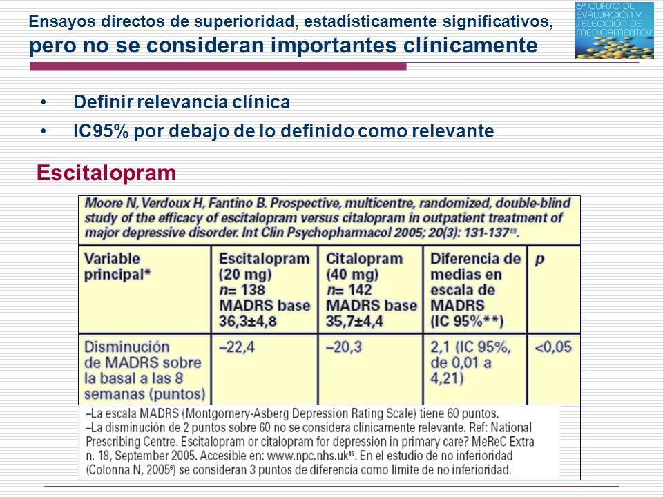 Fondaparinux - Ha demostrado una eficacia superior a enoxaparina, en la variable intermedia de prevención de procesos tromboembólicos venográficos (NNT: 15).