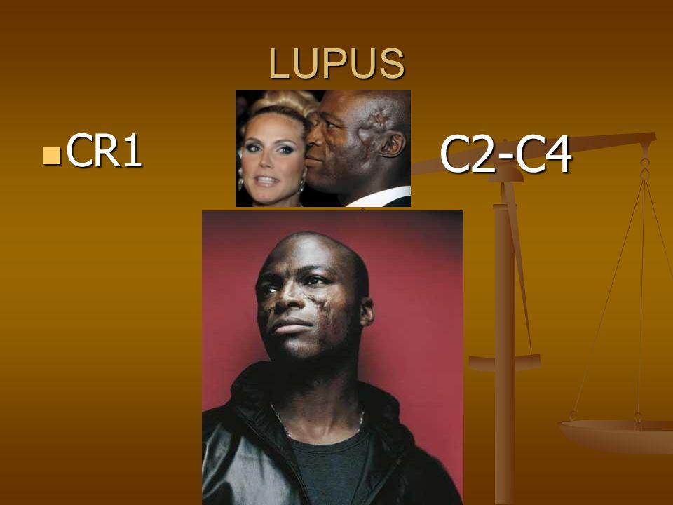 LUPUS CR1 CR1 C2-C4