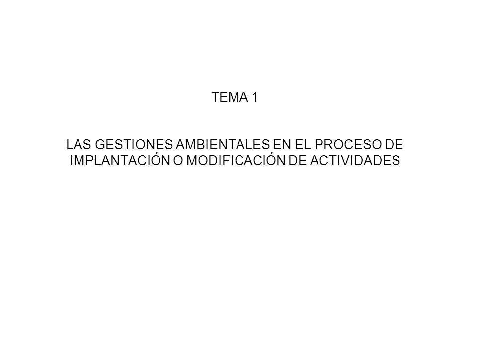 Ordenanzas de Medio Ambiente Dependen del municipio, pero es fundamental su cumplimiento y justificación en las Memorias ambientales incluidas en la tramitación de Licencias de Actividad.