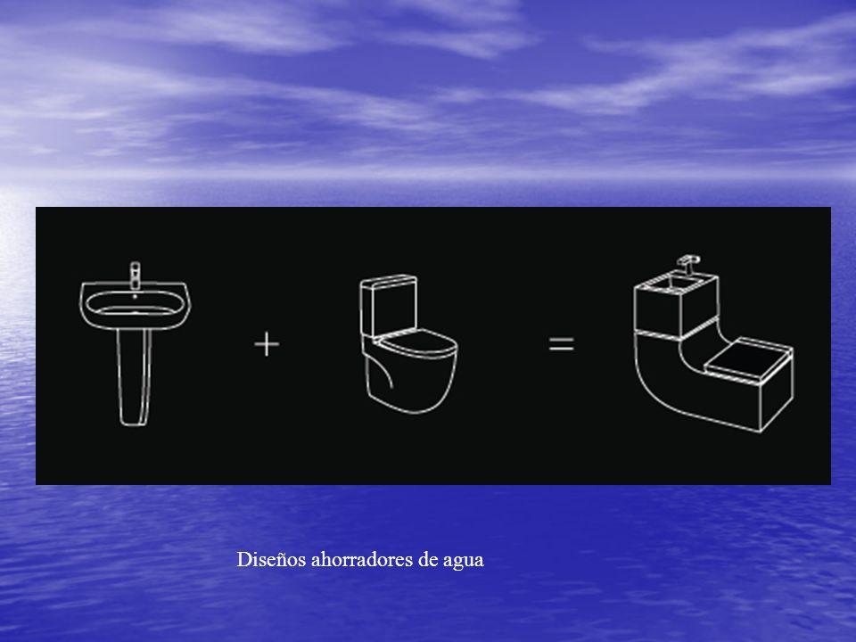 Diseños ahorradores de agua