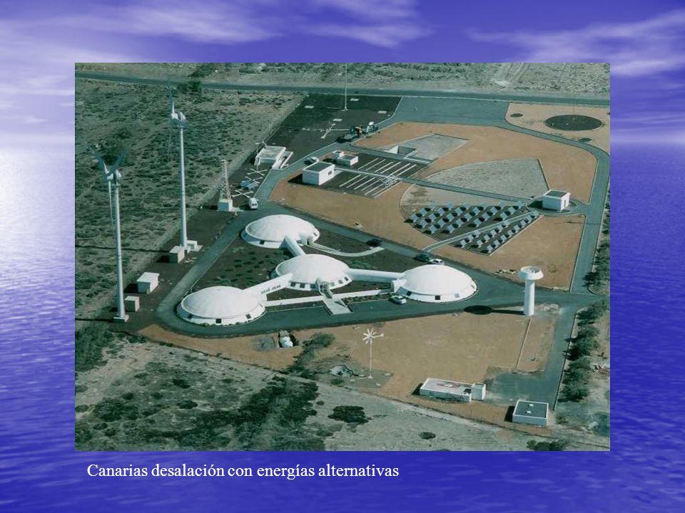 Canarias desalación con energías alternativas
