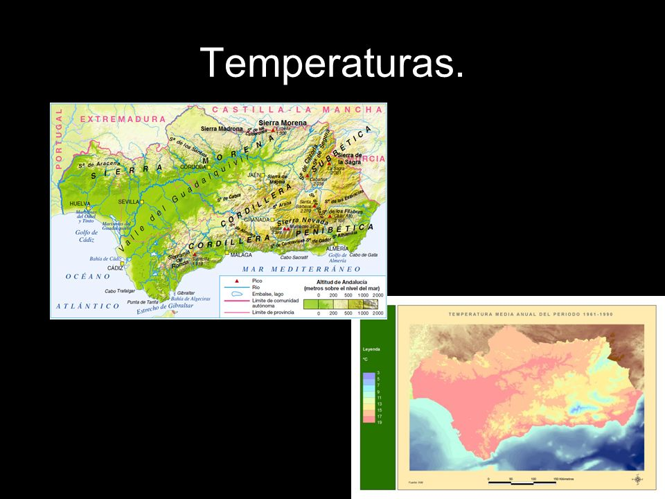 Compara estos dos mapas.