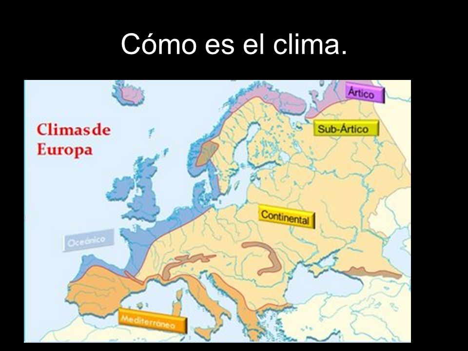 Andalucía ocupa un territorio relativamente pequeño, por lo que los climas presentes no serán excesivamente diferentes.
