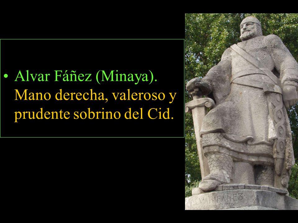 SECUNDARIOS Doña Jimena. Esposa del Cid y sus hijas doña Elvira y Sol.