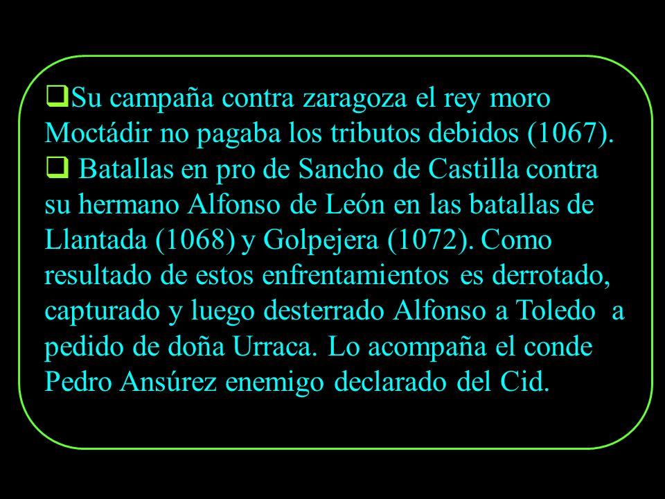 Interviene a los 20 años en la batalla de Graus, acompañaba al infante Sancho quien enfrentaba a su tío Ramiro I, este último muere en la batalla (106