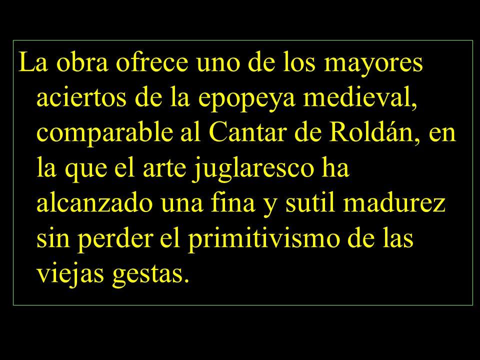 Don Rodrigo y doña Jimena.