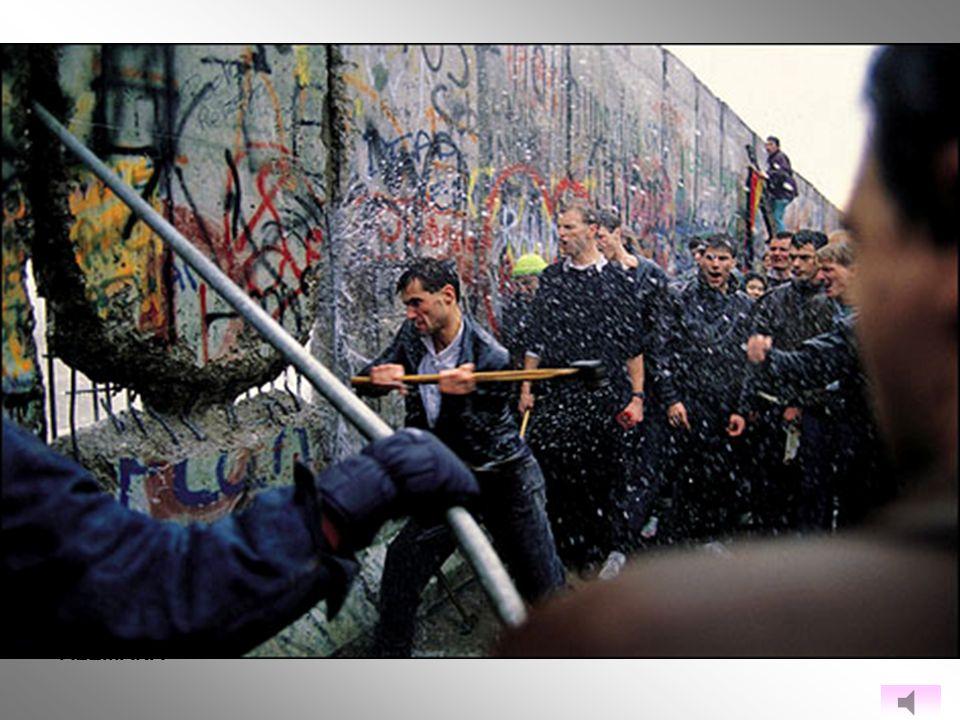 La maltrecha economía soviética y la floreciente Berlín occidental hicieron que hasta el año 1961 casi 3 millones de personas dejaran atrás la Alemani