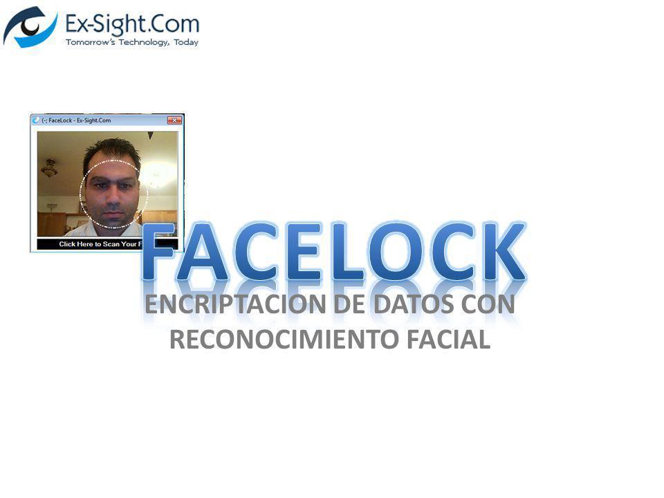 ENCRIPTACION DE DATOS CON RECONOCIMIENTO FACIAL