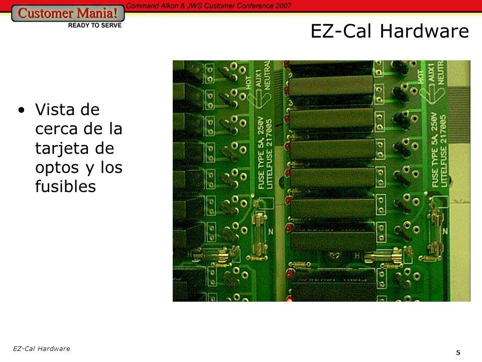 6 EZ-Cal Estacion Manual