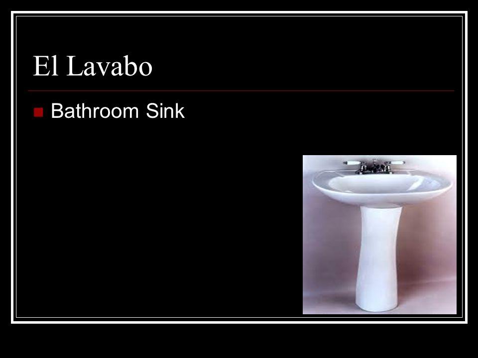 El Lavabo Bathroom Sink