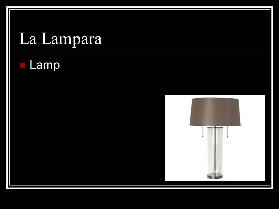 La Lampara Lamp