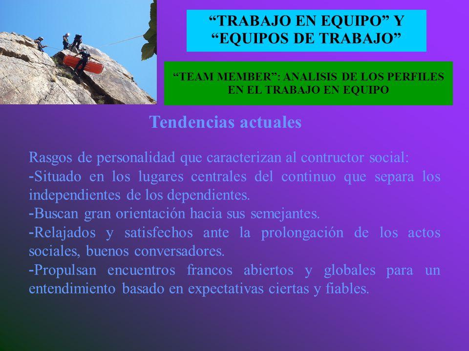 EL CONCEPTO TRABAJO EN EQUIPO Y EQUIPOS DE TRABAJO - CONSTRUCTOR SOCIAL: recurso organizativo distintivo, potenciador de ventajas competitivas sosteni