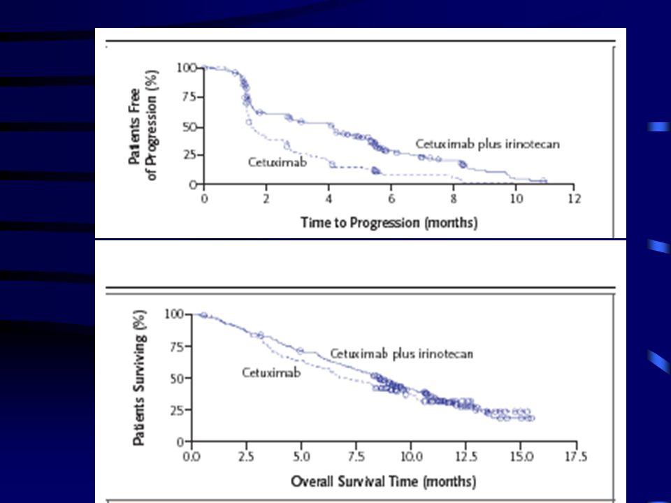 Supervivencia sin progresiónSupervivencia CETUXIMAB en cáncer de cabeza y cuello