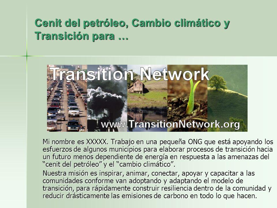 Transition Towns Ciudades y pueblos en transición