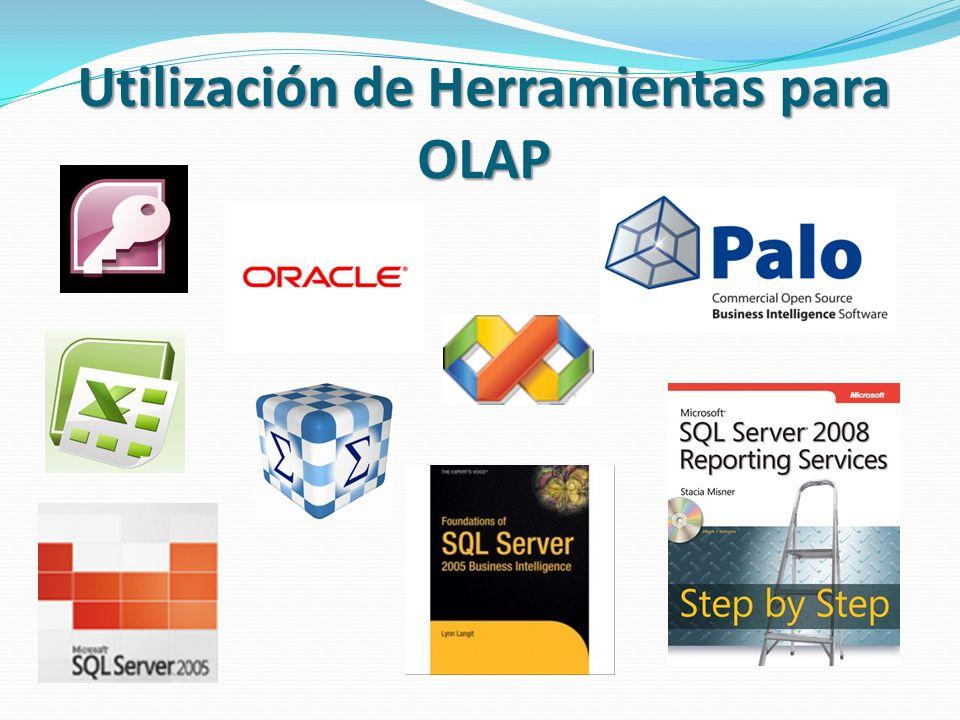 Utilización de Herramientas para OLAP