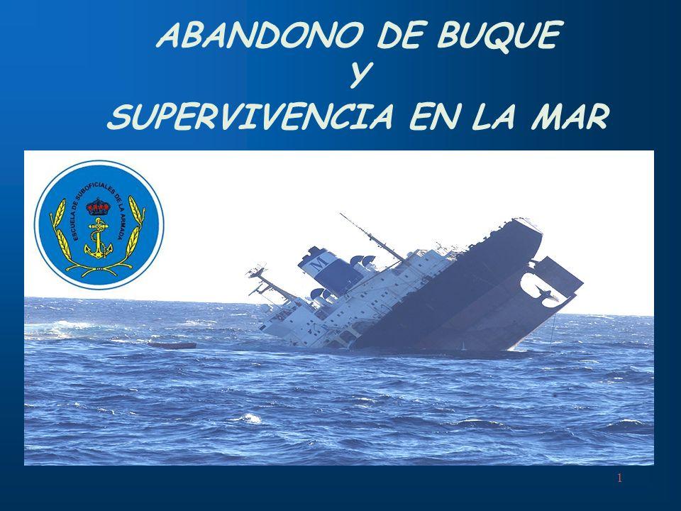 1 ABANDONO DE BUQUE Y SUPERVIVENCIA EN LA MAR
