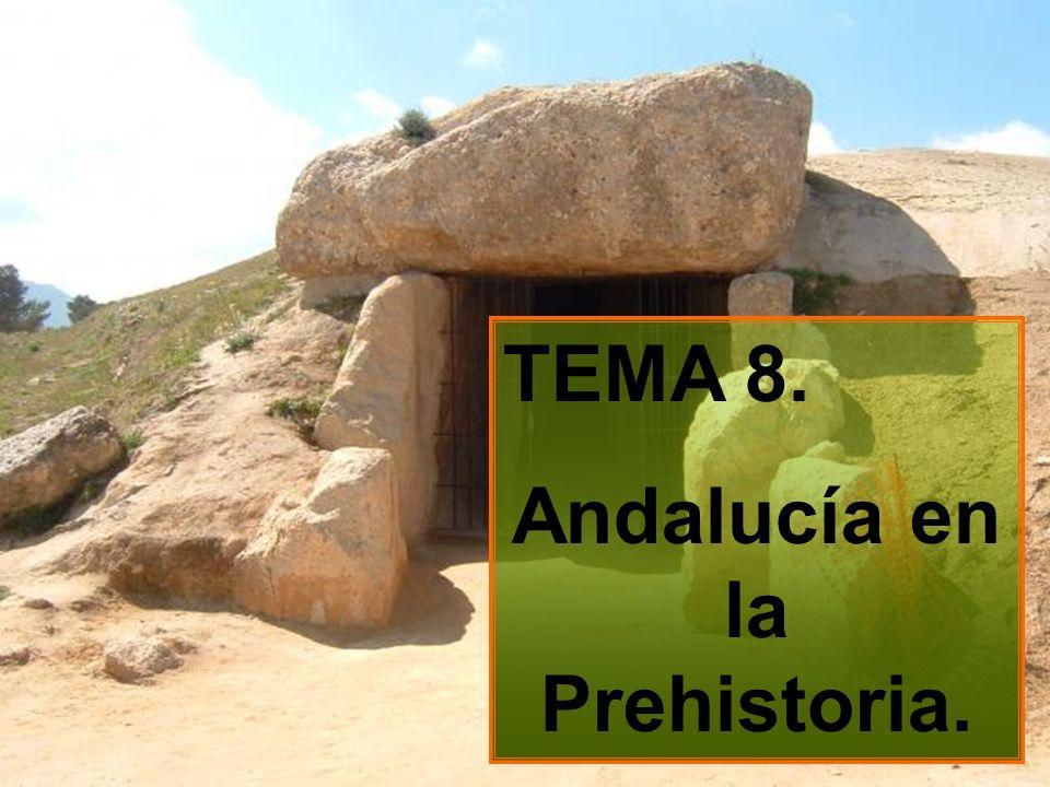 TEMA 8. Andalucía en la Prehistoria.
