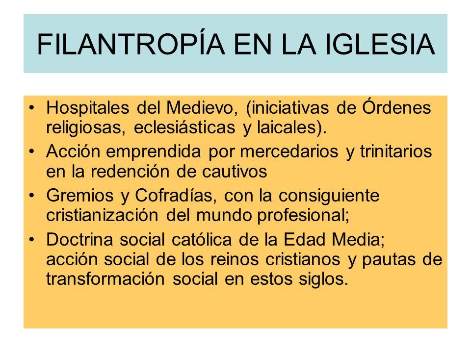 EN LA IGLESIA MEDIEVAL labor desarrollada por diversos personajes y ámbitos de la Iglesia San Gregorio Magno hospitalidad, atención a pobres y enfermo
