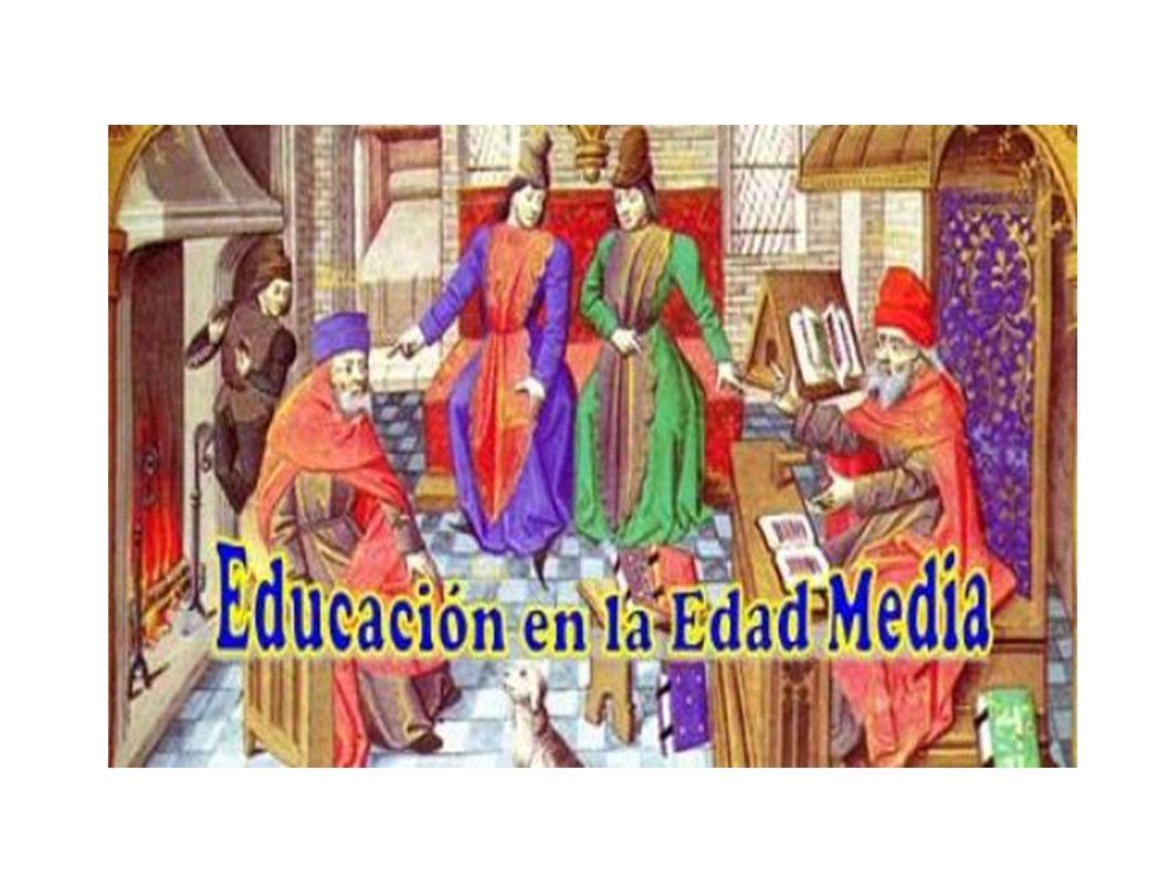 SAN AGUSTÍN Parte de las premisas de Aristóteles La educación habitúa al educando a revelar todas sus pontecialidades (educación integral) realizando síntesis entre educación cristiana y educación greco-romana