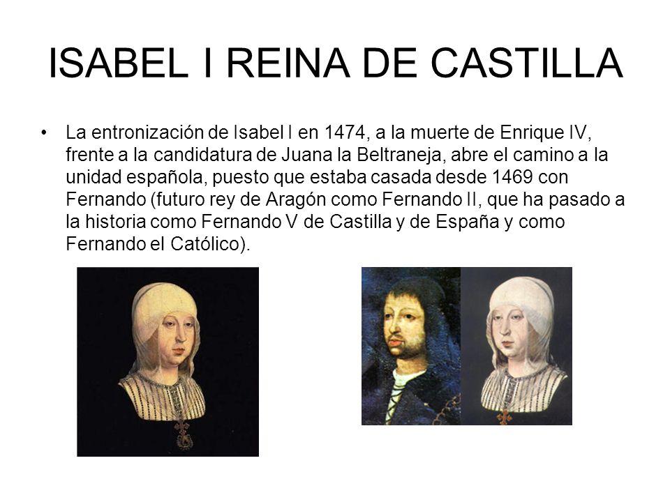 GUERRAS CIVILES ANTES DE LA UNIDAD ESPAÑOLA Desde el siglo XIV y durante parte del XV, la política castellana vive luchas intestinas que llevan a la e