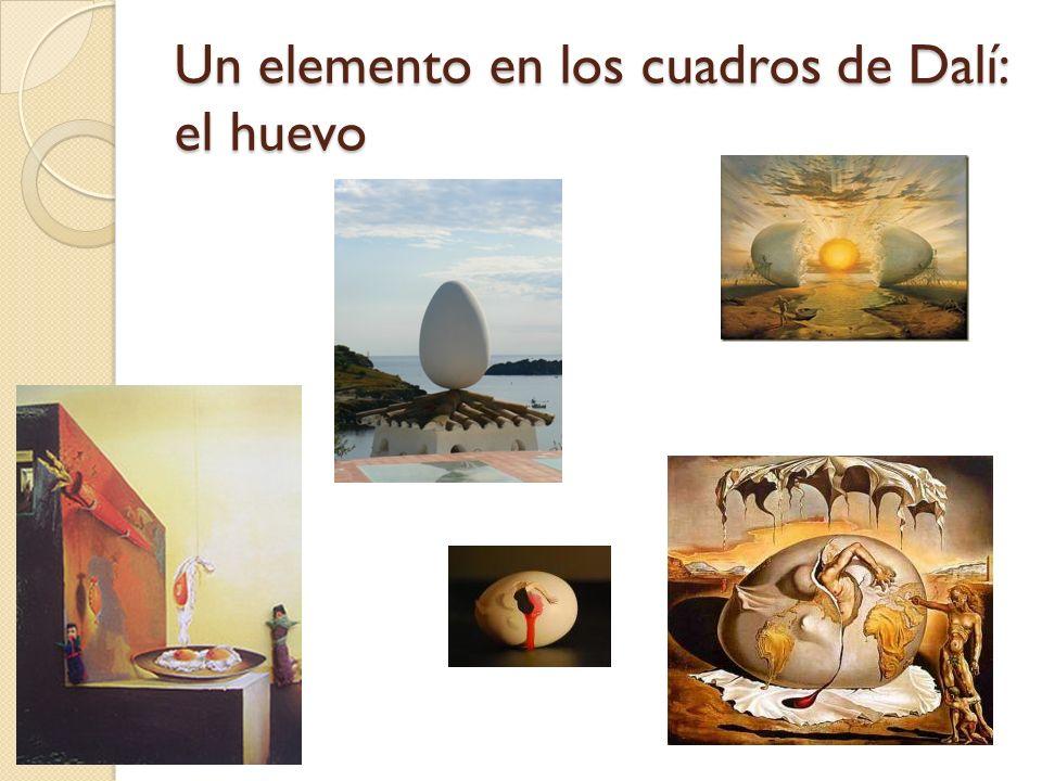 Un elemento en los cuadros de Dalí: el huevo