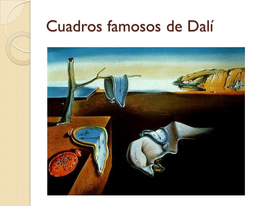 Cuadros famosos de Dalí