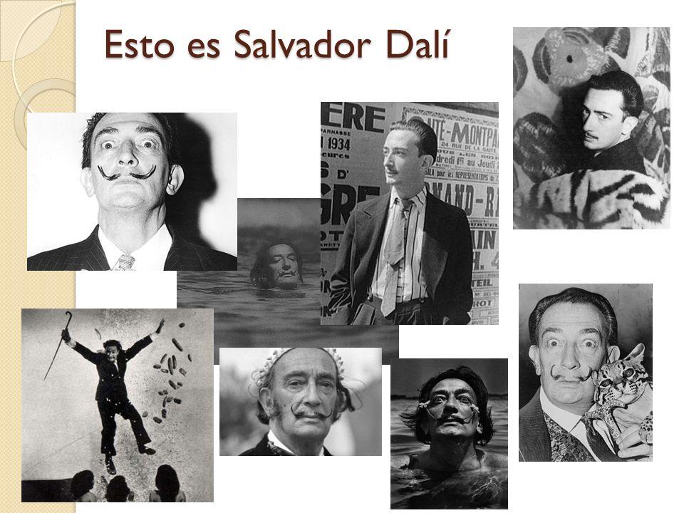 Biografía Salvador Felipe Jacinto Dalí i Domènech Dalí nació el 11 de mayo de 1904 en Figueres, en Cataluña Dalí estudió en la Academia San Fernando en Madrid.