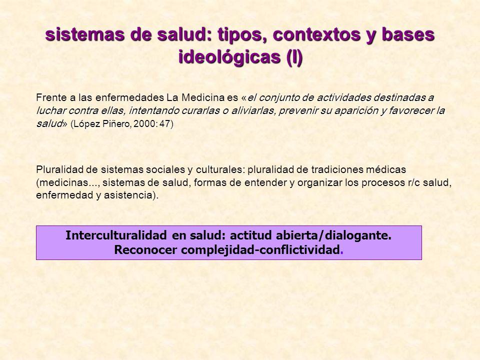 Factores (inter) culturales en salud (I).