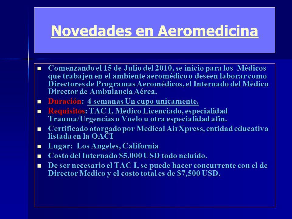 Distribuidores Exclusivos para Latinoamerica de estas Empresas Med-Pac Med-Pac Med-Pac Camillas e interiores medicos para Aviones o helicopteros Camil