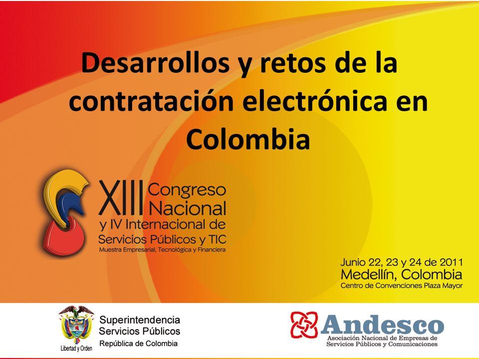Desarrollos y retos de la contratación electrónica en Colombia