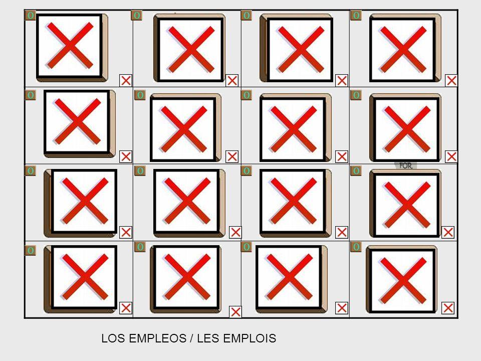 LOS EMPLEOS / LES EMPLOIS