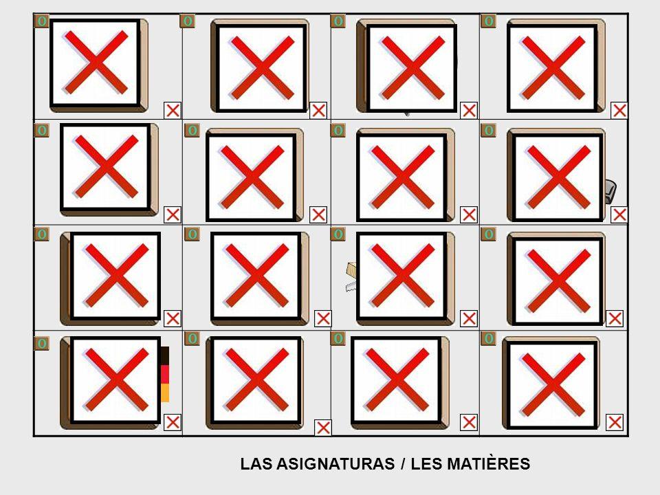 LAS ASIGNATURAS / LES MATIÈRES