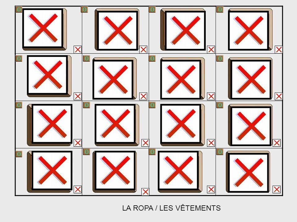 LA ROPA / LES VÊTEMENTS