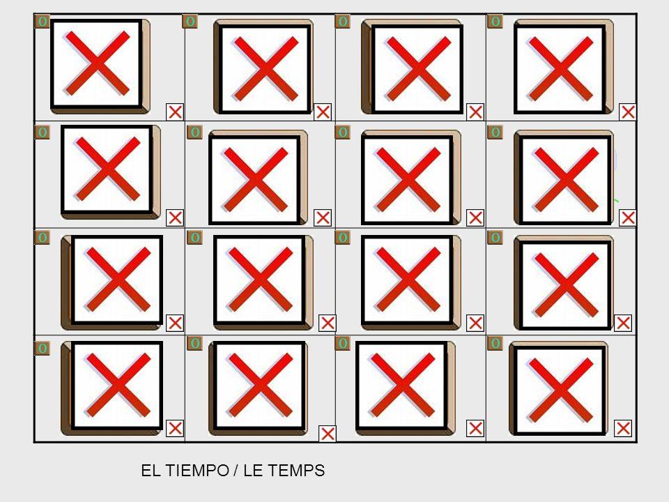 EL TIEMPO / LE TEMPS