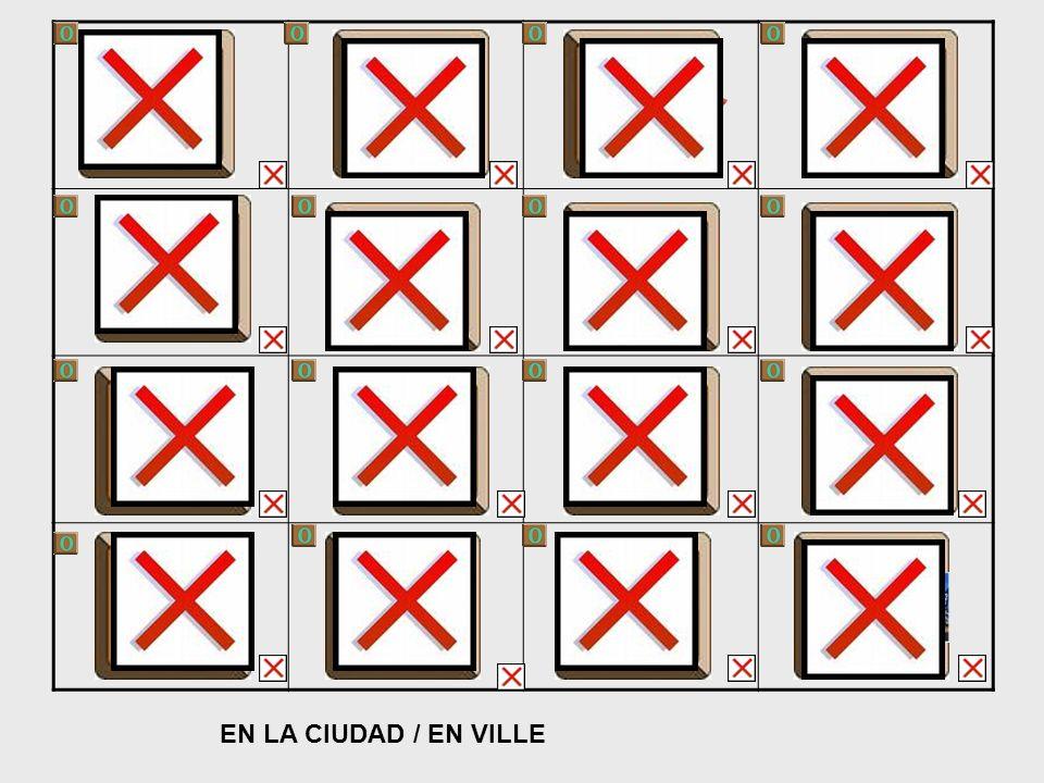 EN LA CIUDAD / EN VILLE