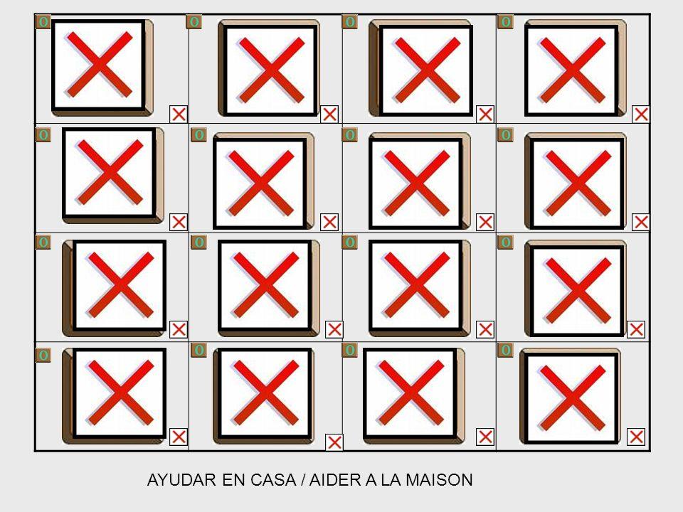AYUDAR EN CASA / AIDER A LA MAISON