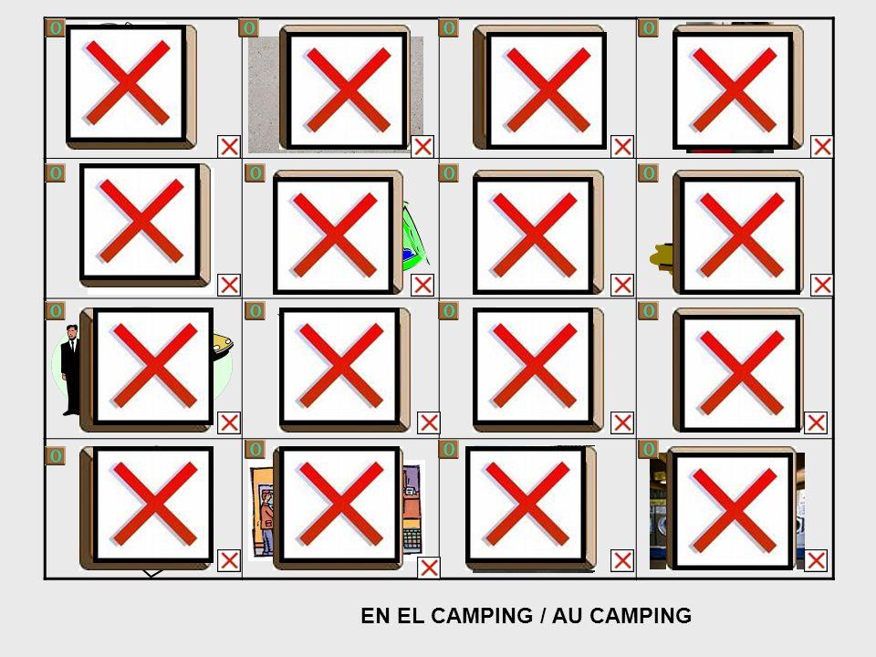 EN EL CAMPING / AU CAMPING