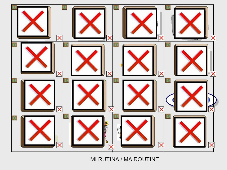 MI RUTINA / MA ROUTINE