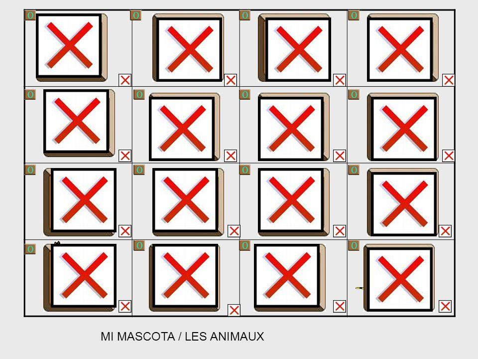 MI MASCOTA / LES ANIMAUX