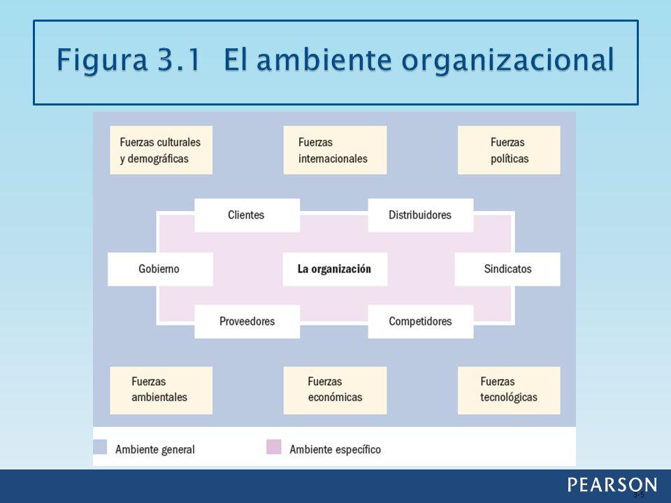 Las fuerzas de grupos de inversionistas externos que afectan directamente la capacidad de la organización para asegurarse los recursos.