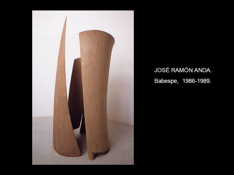 JOSÉ RAMÓN ANDA. Babespe, 1986-1989.