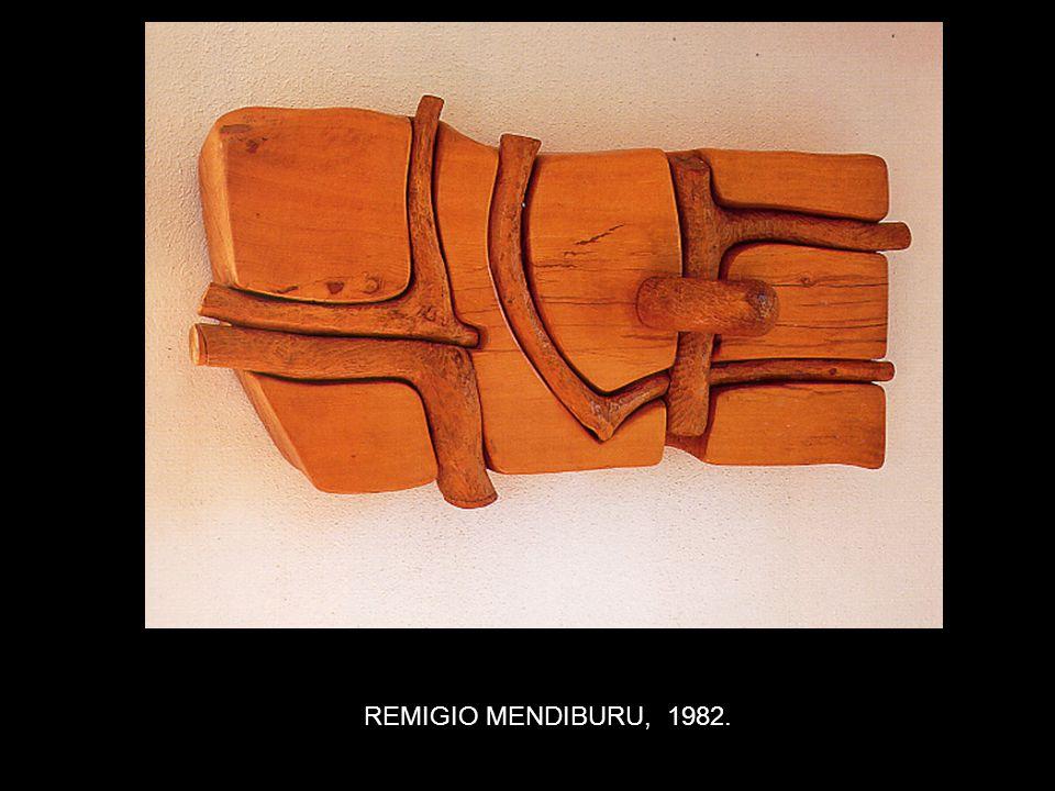 REMIGIO MENDIBURU, 1982.