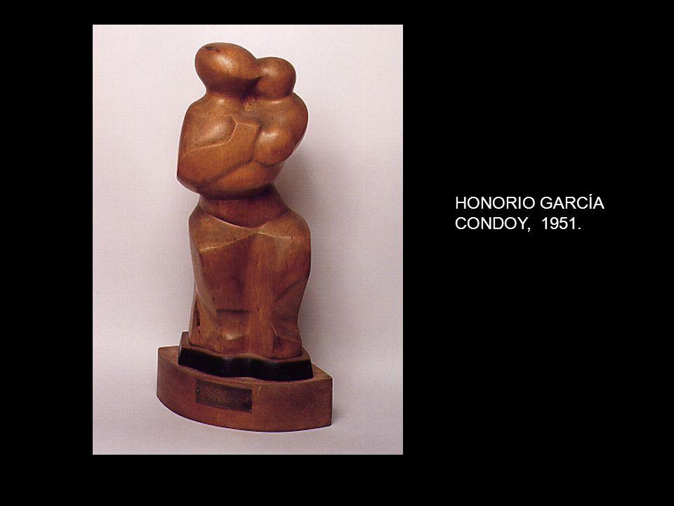 HONORIO GARCÍA CONDOY, 1951.