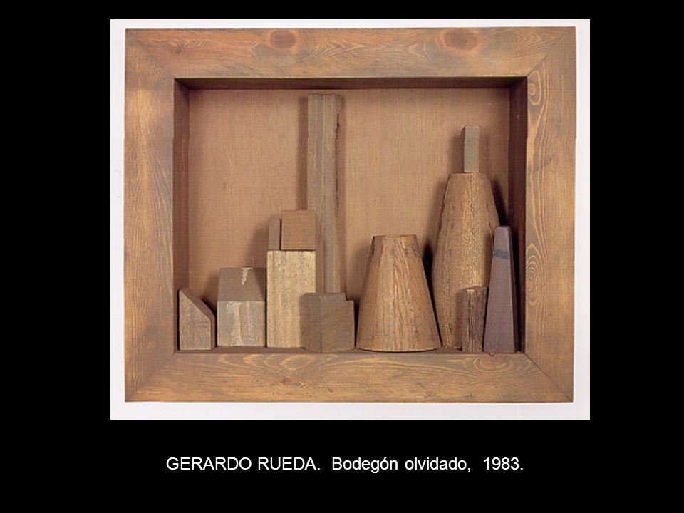 GERARDO RUEDA. Bodegón olvidado, 1983.