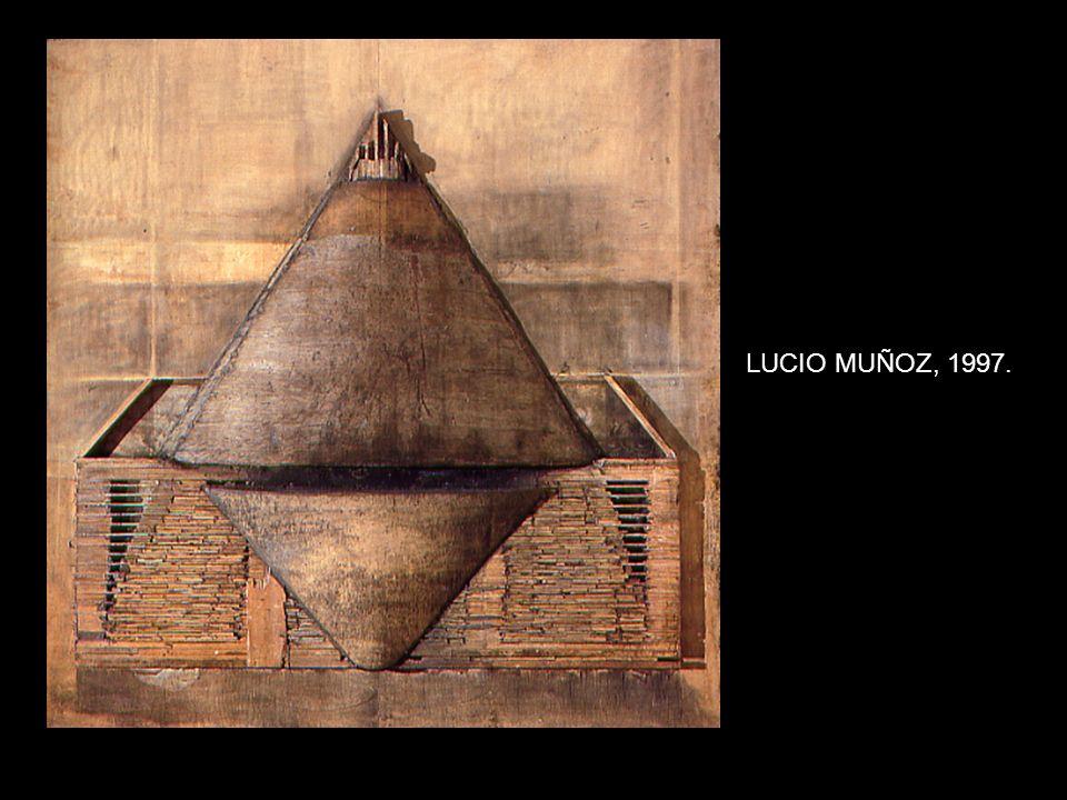 LUCIO MUÑOZ, 1997.