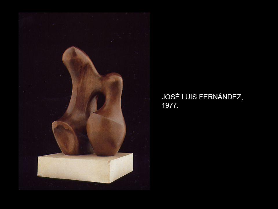 JOSÉ LUIS FERNÁNDEZ, 1977.