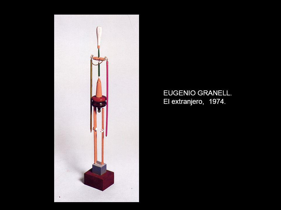 EUGENIO GRANELL. El extranjero, 1974.