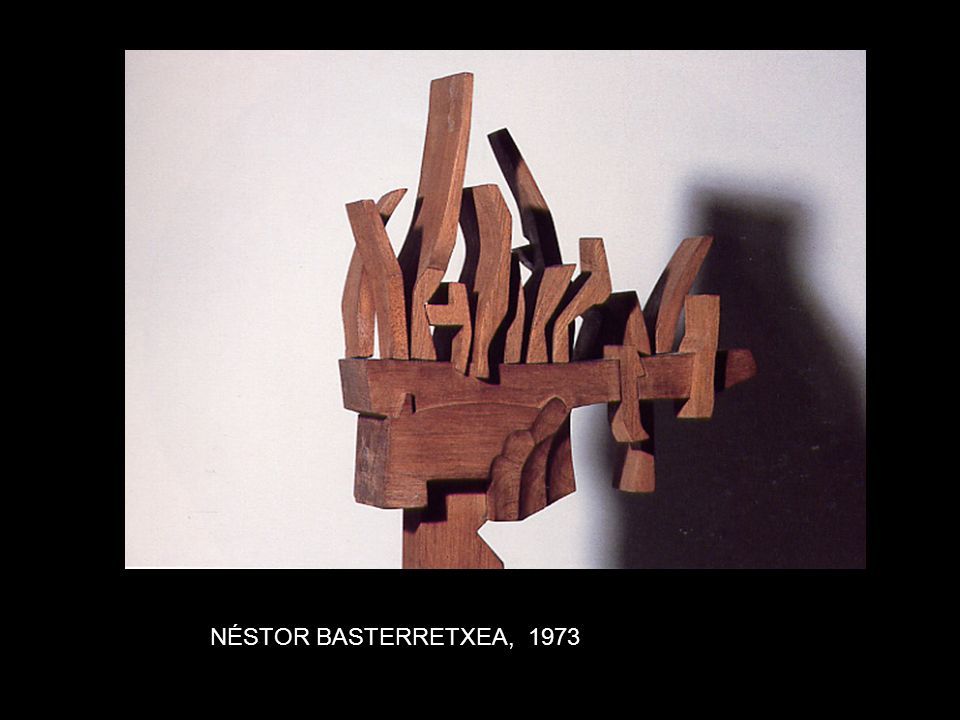 AGUSTÍN IBARROLA. Engarce de huecos, 1995.